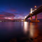 Mactan Bridge at Night
