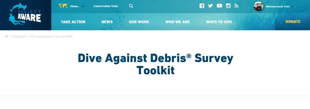 dive-against-debris-toolkit